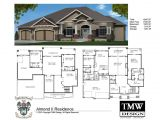 New Home Plans with Basements House Plans with Daylight Basements Elegant Rambler