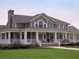 New House Plans with Wrap Around Porches Cabin Style Mansion