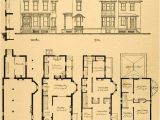 New Old Home Plans Vintage Victorian House Plans 1879 Print Victorian House