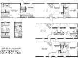 New River Mobile Homes Floor Plans New 16×80 Mobile Home Floor Plans New Home Plans Design