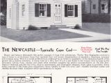 Newcastle Homes Floor Plans 1940 Newcastle Mid Century Cape Cod Aladdin Kit Houses