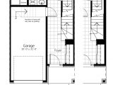 Newcastle Homes Floor Plans Newcastle Three Storey townhome Floor Plans Claridge Homes