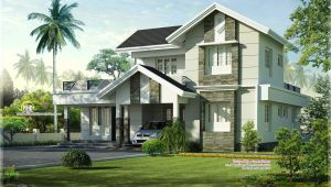 Nice Home Plans 1975 Sq Feet Nice Home Exterior Design Kerala Home