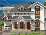Nice Home Plans Nice Sloped Roof Kerala Home Design Kerala Home Design