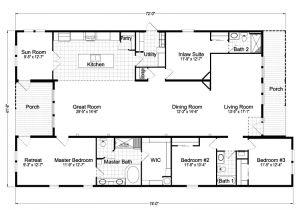 Off Frame Modular Home Floor Plans Casita Iii Tdx4746c Home Floor Plan 4 Bedrooms 3 Baths