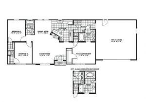 Off Frame Modular Home Floor Plans Manufactured Home Floor Plan Clayton Fireside Garage