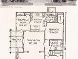 Old Home Plans 1916 California Bungalow 1200 Sq Ft Helen Lukens