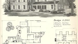 Old Home Plans Vintage House Plan Vintage House Plans 1970s Farmhouse
