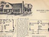 Old Home Plans Vintage House Plans J224 Antique Alter Ego