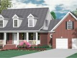 One and A Half Story House Floor Plans Houseplans Biz House Plan 2341 C the Montgomery C