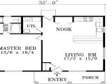 One Bedroom Home Floor Plans 1 Bedroom House Plans with Garage Luxury 1 Bedroom House