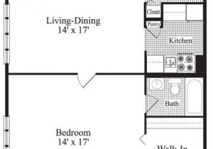One Bedroom Home Floor Plans 25 Best Ideas About 1 Bedroom House Plans On Pinterest