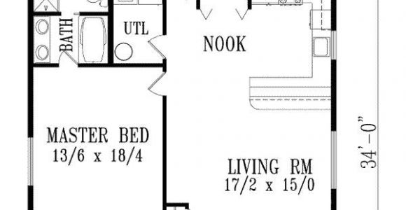 One Bedroom Home Floor Plans Exceptional One Bedroom Home Plans 10 1 Bedroom House