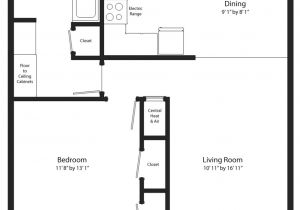 One Bedroom Home Floor Plans Floor Plan for One Bedroom House 28 Images Apartments