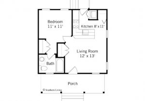 One Bedroom Home Floor Plans One Bedroom House Plans for You