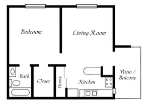 One Bedroom Home Floor Plans One Bedroom Trailer Floor Plans Joy Studio Design