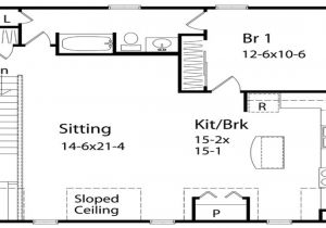 One Bedroom Home Floor Plans Simple One Bedroom House Plans One Bedroom Home Plans 1