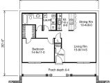 One Bedroom Home Plans 1 Bedroom House Plans with Garage Home Design and Style