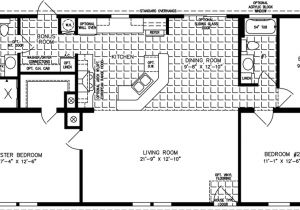 One Bedroom Mobile Home Floor Plans 1400 to 1599 Sq Ft Manufactured Home Floor Plans