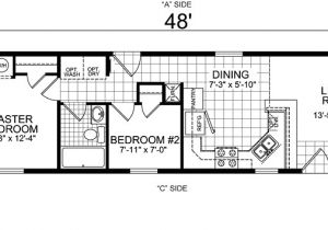 One Bedroom Mobile Home Floor Plans Single Wide Mobile Home Floor Plans 2 Bedroom Bedroom at