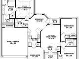 One Floor House Plans 3 Bedrooms 3 Bedroom 2 Bath 1 Story House Plans Beautiful House Plans