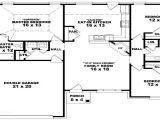 One Floor House Plans 3 Bedrooms 3 Bedroom Ranch Floor Plans 3 Bedroom One Story House