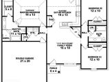 One Floor House Plans 3 Bedrooms 653788 One Story 3 Bedroom 2 Bath French Traditional