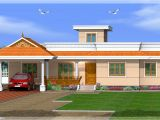 One Floor House Plans In Kerala Kerala Style 3 Bedroom One Story House 1500 Sq Ft