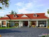 One Floor House Plans In Kerala Single Storied House with Dormer Windows Kerala Home