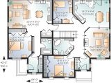 One Floor House Plans with Inlaw Suite House Plan with In Law Suite 21766dr 1st Floor Master