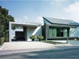 One Level Contemporary House Plans Modern 1 Floor House Designs Homes Floor Plans