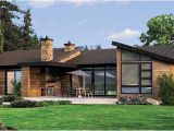 One Level Contemporary House Plans Plan W69402am Single Story Contemporary House Plan E