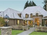 One Level French Country House Plans Wayne 8292 4 Bedrooms and 3 Baths the House Designers