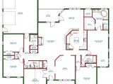 One Level Home Floor Plans Beautiful Single Story Open Floor Plan Homes New Home