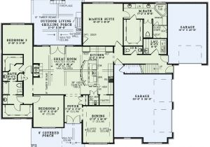 One Level Home Plans with Bonus Room Ranch House Plans with Bonus Room