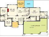 One Level House Plans with 3 Car Garage Craftsman Ranch with 3 Car Garage 89868ah