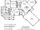 One Level House Plans with 3 Car Garage Home Plans with Three Car Garage