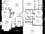 One Level House Plans with 3 Car Garage One Story House Plans Single Level House Plans 3 Bedroom