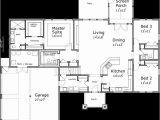 One Level House Plans with Bonus Room One Story House Plans House Plans with Bonus Room House