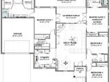 One Level House Plans with Two Master Suites House Plans with 2 Master Bedrooms Smalltowndjs Com