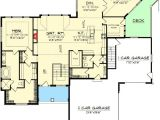 One Level House Plans with Walkout Basement Craftsman Ranch with Walkout Basement 89899ah 1st Ranch