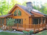 One Level Log Home Plans Log Cabin Homes Floor Plans Log Cabin Home with Wrap