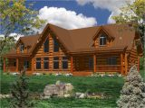 One Level Log Home Plans One Story Log Home Plans Ranch Log Homes Log Cabin Home