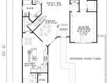 One Of A Kind House Plans One Of A Kind Courtyard Design 59391nd Architectural