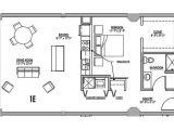 One Room Home Plans Floor Plan 1e Junior House Lofts