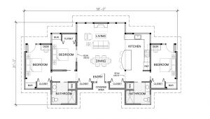 One Storey Home Plans 3 Bedroom House Plans One Story Marceladick Com
