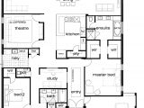 One Storey Home Plans 5 Bedroom Single Story House Plans Bedroom at Real Estate