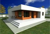 One Storey Home Plans Single Story Modern House Plans