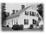 One Story Cape Cod House Plans Cape Cod Colonial House Plans One Story Plan W attic