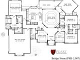 One Story Custom Home Plan Custom Home Floor Plans Texas Gurus Floor